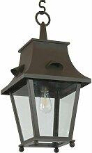 Lanterne à suspendre en fer forgé Saumur