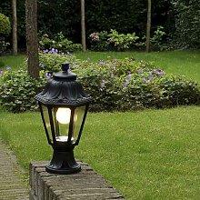 Lanterne d'extérieur rurale noire IP44 - Anna