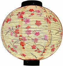Lanterne de Papier de Style Japonais Motif de