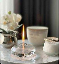 Lanterne de Table en verre d'huile, lanterne