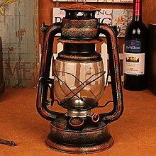 Lanterne de tempête Vintage Allume la Lampe de