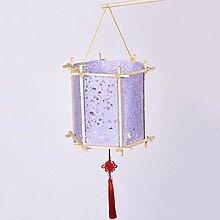 Lanterne en papier créative de style chinois fait