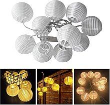 Lanterne exterieur-2M 10 LED-Lampion