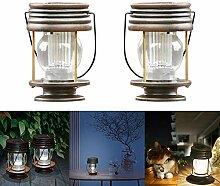 Lanterne Extérieur à Lumière Solaire, Pack De 2