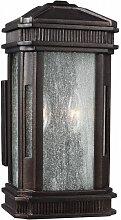 Lanterne Federal, bronze doré, 2 éclairages