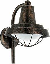 Lanterne murale extérieure vintage lampe de