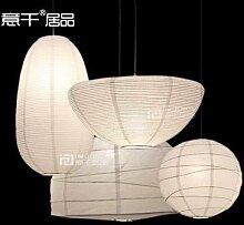 Lanterne Simple en papier pour Loft, éclairage