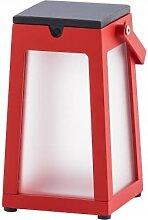 Lanterne solaire Alpha 300 lumens Rouge