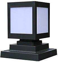 Lanterne solaire de lumière de colonne de table