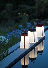 Lanterne solaire Giga 300 lumens Rouge