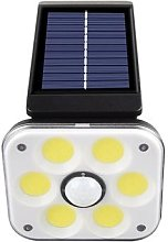 Lanterne solaire imperméable avec détecteur de