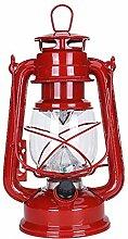 Lanterne tempête, lampe à huile LED Vintage de