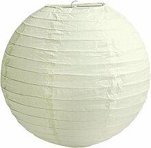 Lanternes rondes en papier 10,2 cm, 15,2 cm, 20,3