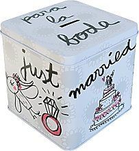 Laroom Tirelire métallique Motif pour la Mariage,