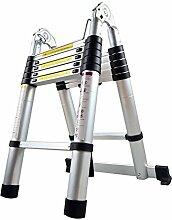 LARS360 Échelle Télescopique de 380cm Échelle