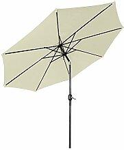 LARS360 Parasol de jardin en polyester - Diamètre