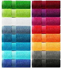 Lashuma Lot de 6 Serviettes de Toilette série:
