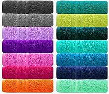 Lashuma Lot de 6 serviettes London, petites