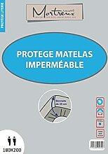 laurentmortreux Protège Matelas PVC 180x200,