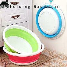 Lavabo Portable pliable, seau, bassin à Fruits et