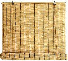 LBBGM Rideau en Roseau Naturel, Stores en Bambou,