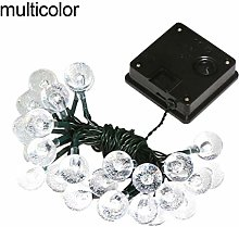 LC-lights Guirlande Lumineuse Solaire 30 LED en