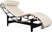 LC4 Chaise longue - Crème