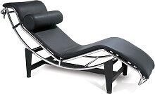 LC4 Chaise longue - Noir