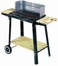 Le canberra : barbecue roulette mobile, bois ou