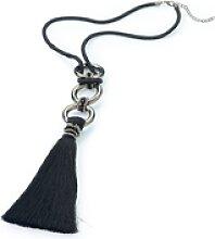 Le collier  Emilia Lay noir  