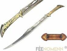 LE HOBBIT - Réplique Épée THRANDUIL (Gold