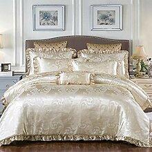 Le jacquard de couvre-lit de fermeture éclair