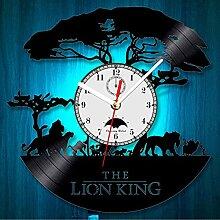 Le roi lion Disney Horloge murale 12 pouces LED