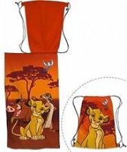 Le Roi Lion - Ensemble serviette de bain 70 x 140