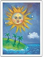 Le Soleil (L) De Hawaii - Peinture de Couleur de