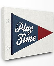 Le Stupell Home Decor Collection Play Time Fanion