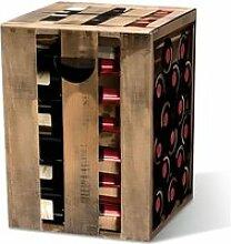 Le tabouret en carton Cave à vin