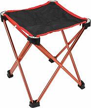 Le Tabouret Pliant Chaise De Camping Portable,