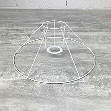 Lealoo Carcasse Abat-Jour Conique 30 x 16 cm,