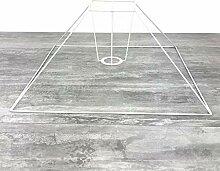 Lealoo Carcasse Abat-Jour Pyramide Basse 40x11x27