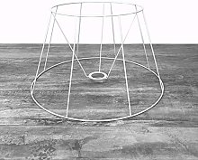 Lealoo Carcasse Abat-Jour Tambour 40 cm, Armature