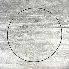 Lealoo Grand Cercle XL métallique Noir, diam. 70