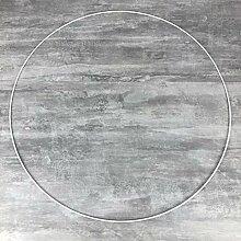 Lealoo Grand Cercle XXL métallique Blanc diam. 90