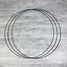 Lealoo Gros Lot de 3 Grands Cercles métalliques