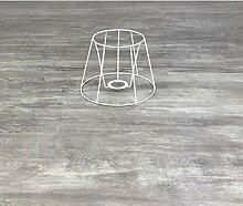 Lealoo Petite carcasse Abat-Jour Tambour 15 cm,