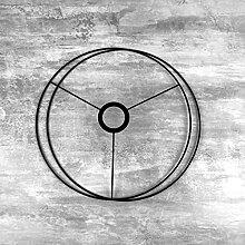Lealoo Set d'Ossature Noir diamètre 30cm pour
