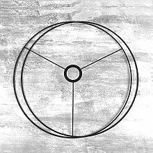 Lealoo Set d'Ossature Noir Diamètre 40 cm
