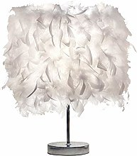LEAMER Feather Lampe de Chevet Elégant Plume