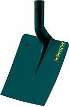 Leborgne 006250 Pelle carrée tôle-25 cm sans