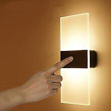 LED Applique Lampe de Chevet Lampe Murale Sans Fil